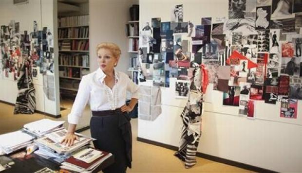 Carolina Herrera recibió distinción académica del Fashion Institute of Technology de Nueva York (Foto: Reuters)