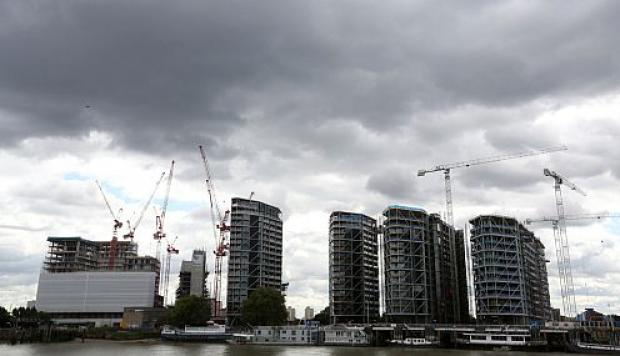 Proyecto St. James's Riverlight de la desarrolladora Berkeley Group Plc en Londres. (Foto: Bloomberg)