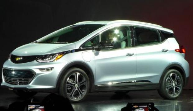 Chevrolet Bolt de GM. (Foto: AFP)