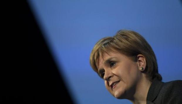 Nicola Sturgeon. (Foto: Reuters)