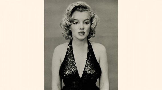 """Marilyn Monroe"" por Richard Avedon, 1957."