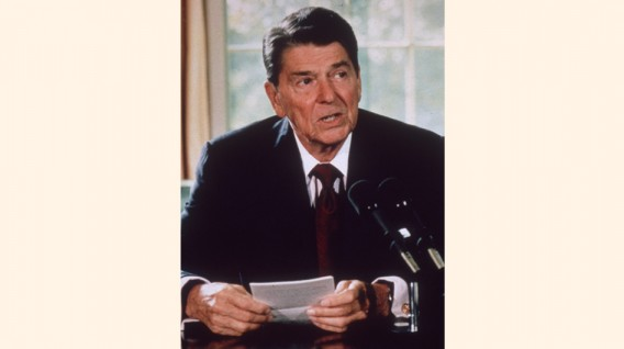 Ronald Reagan (Republicano) 1981- 1989 (Foto: Getty)
