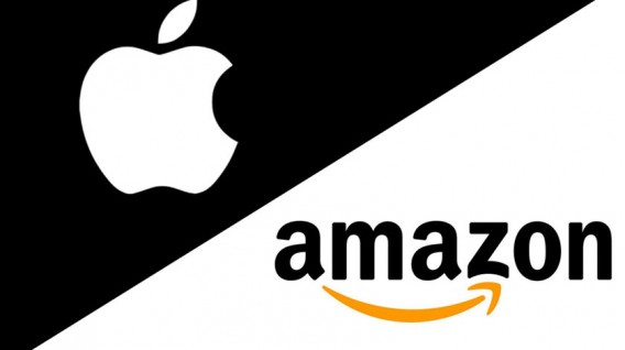 Apple y Amazon