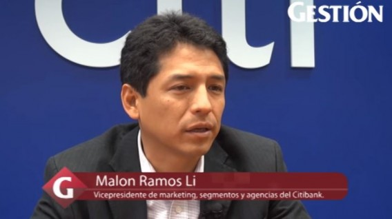 Marlon Ramos Li, vicepresidente de marketing, segmentos y agencias del Citibank