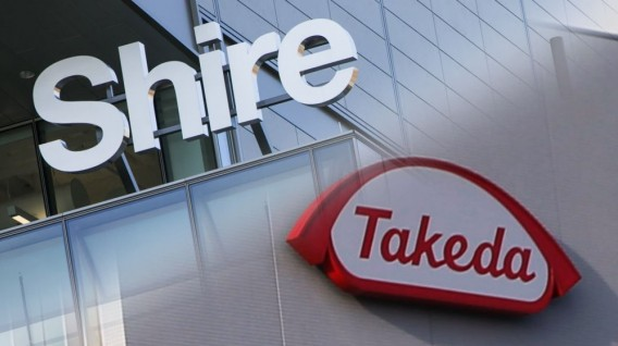 Takeda compra Shire