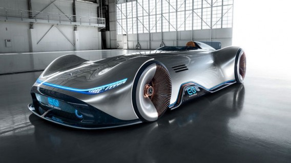 Mercedes-Benz EQ Vision Silver Arrow