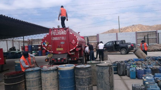 Combustible ilegal