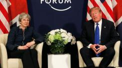 Donald Trump y Theresa May abordarán