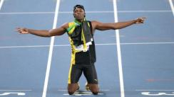 "Usain Bolt, el ""Relámpago"", en la recta final"