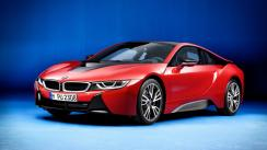 BMW i8 Protonic Red Edition: En siete imágenes