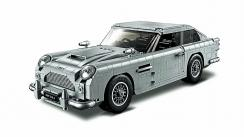 El Aston Martin de James Bond hecho por Lego