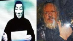 Anonymous envía contundente amenaza tras arresto de Julian Assange