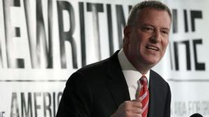 Bill de Blasio, alcalde de Nueva York. (Foto: Getty)