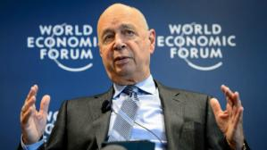 Klaus Schwab, presidente del World Economic Forum. (Foto: AFP).