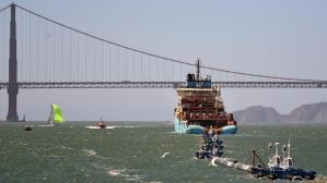 Ocean Cleanup's System 001