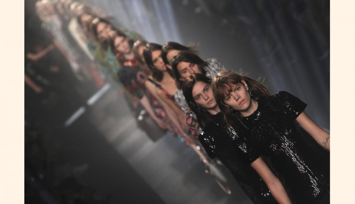 Show de la pasarela de Louis Vuitton. (Foto: getty)