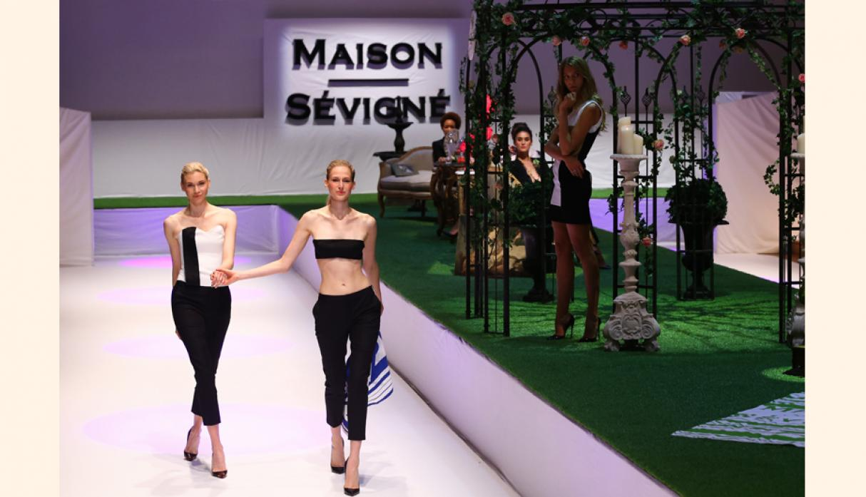 Maison Sevigne presenta una colección fresca en el Paris Fashion Week. (Foto: getty)