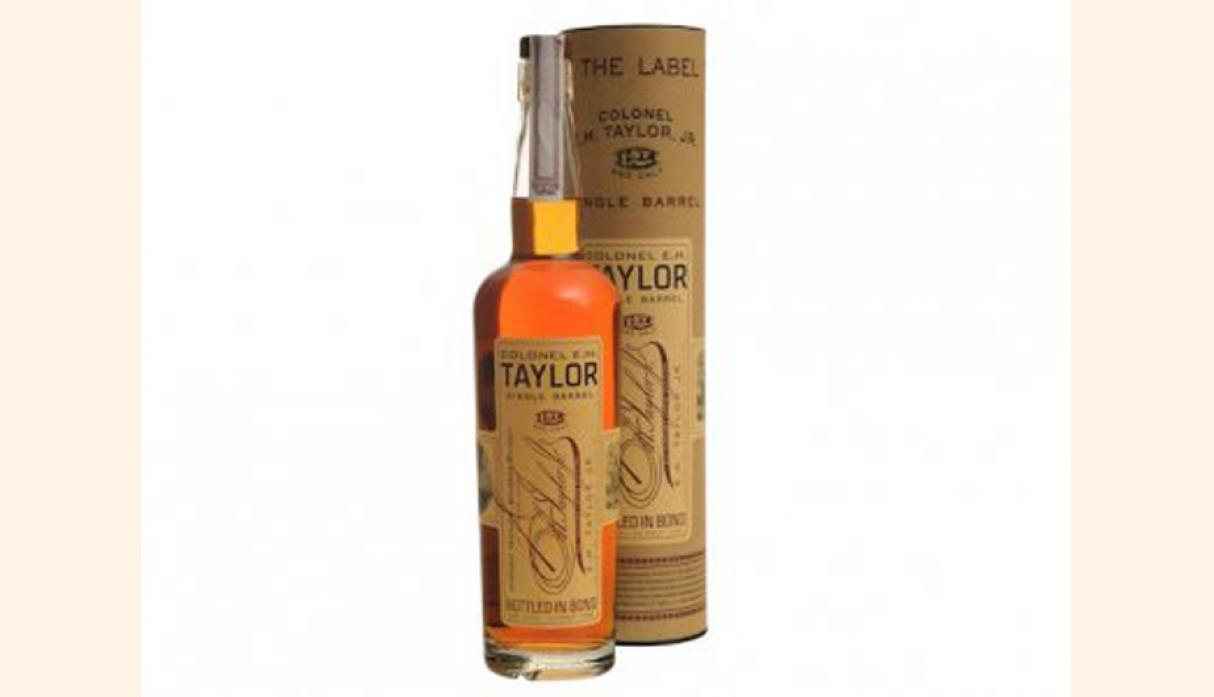Mejor Whisky Bourbon – EH Taylor Jr. Single Barrel, precio US$ 167. (Foto: businessinsider)