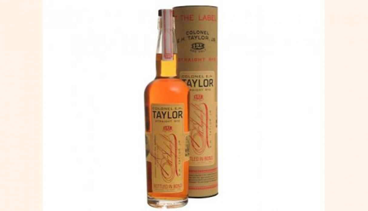 Mejor Rye Whiskey – EH Taylor, Jr. Rye Heterosexual, precio US$ 70. (Foto: businessinsider)