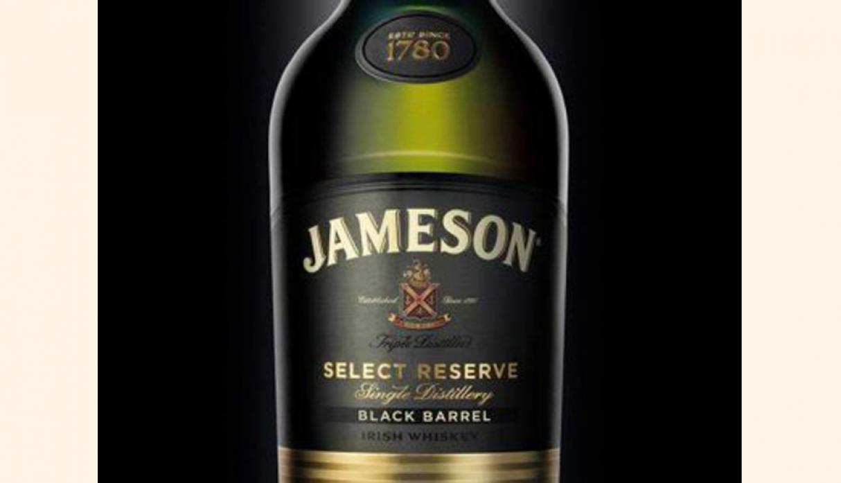 Mejor whisky irlandés – Jameson Negro Barril, precio US$ 34.99 (Foto: businessinsider)