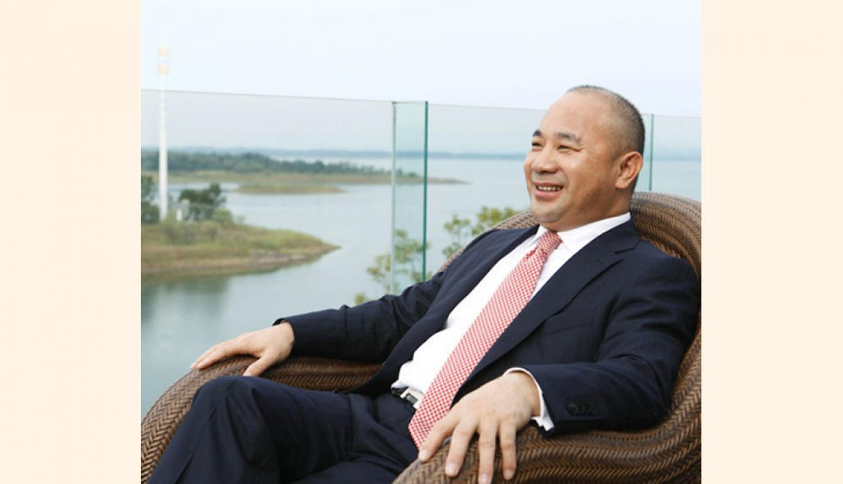 Wang Wenyin. Edad: 48. Presidente de Amer International Group Company Limited. Fortuna: US$ 14,400 millones. (Foto: Forbes)