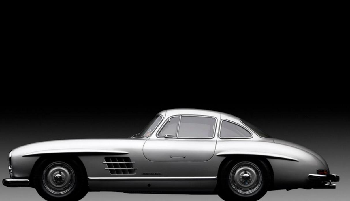 Mercedes – Benz Gullwing Alloy de 1955. (Foto: Michael Furman/Forbes)
