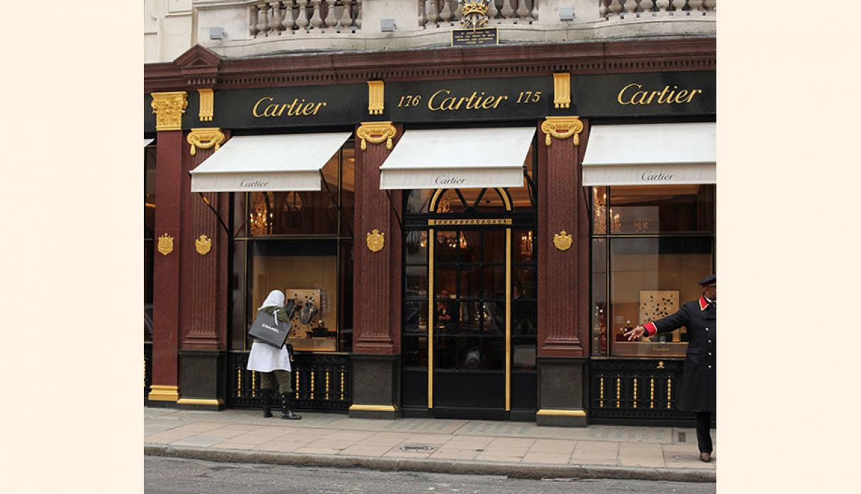 Cartier. Valor neto: US$ 5.500 millones.