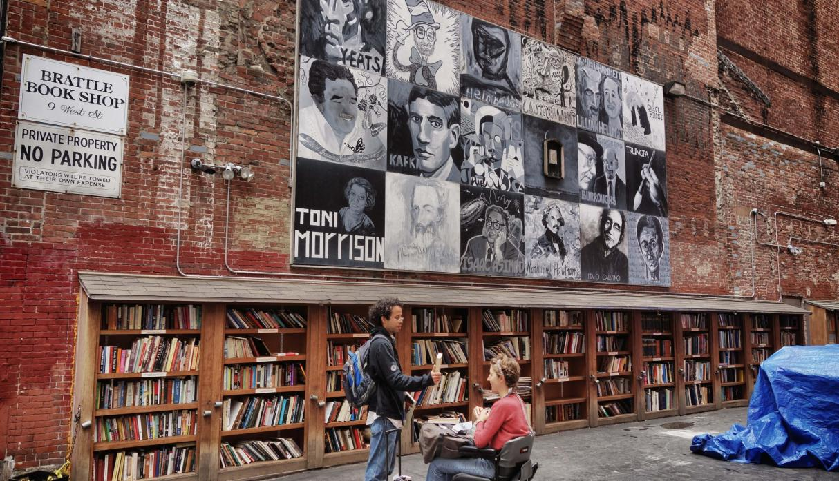 The Brattle Book Shop