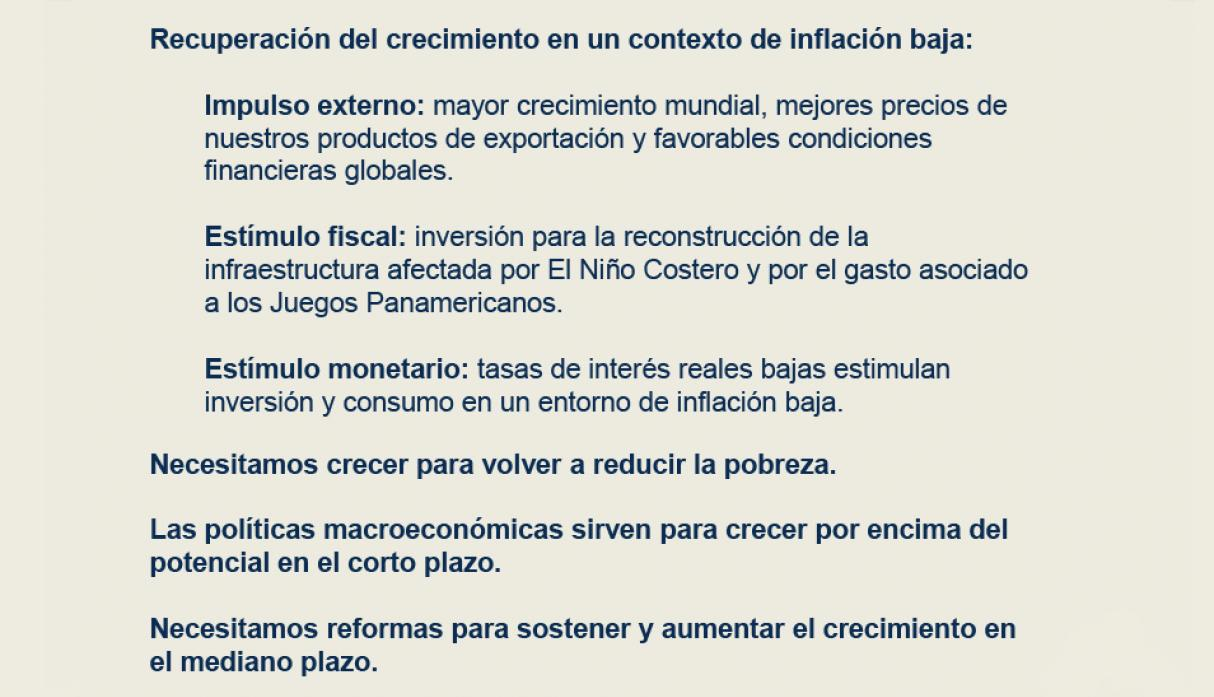 perspectivas económicas y financieras