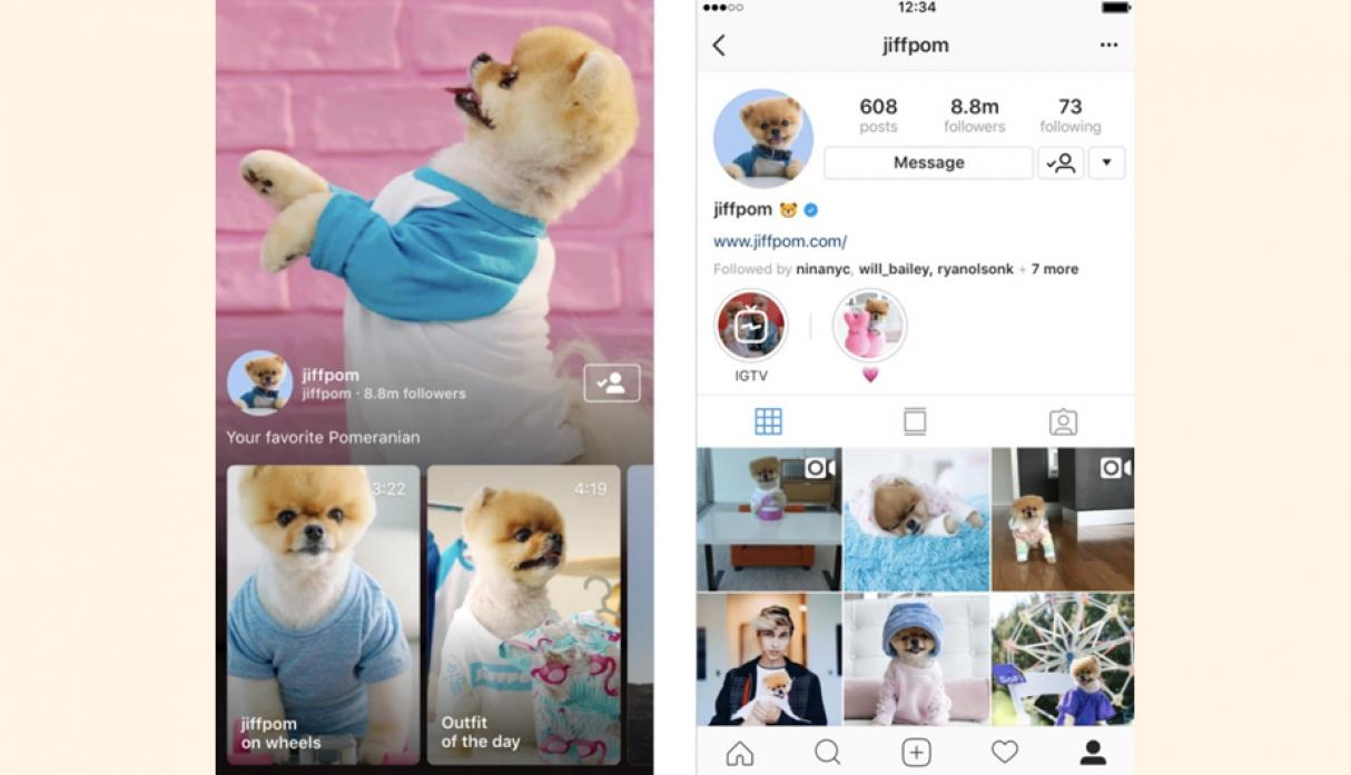 Instagram lanza IGTV, App para videos largos