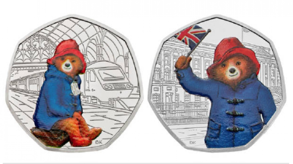 monedas oso paddington